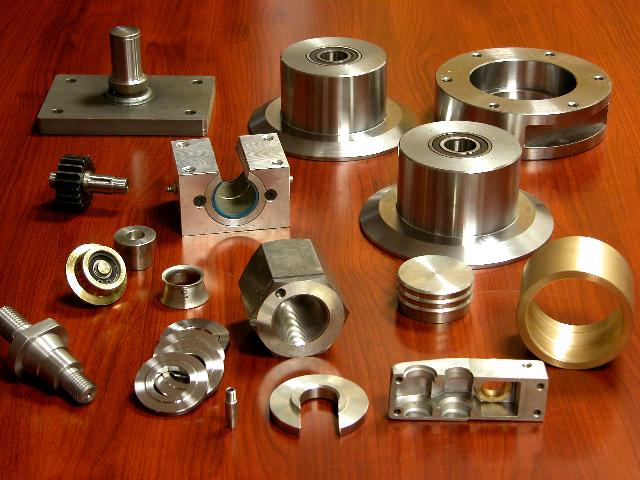 Fabricación de piezas mecanizadas en general